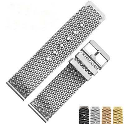 New style 핫 세일 stainless steel watch band 20 미리메터 웨빙 metal watch strap 패션 stainless steel 줄을 감시