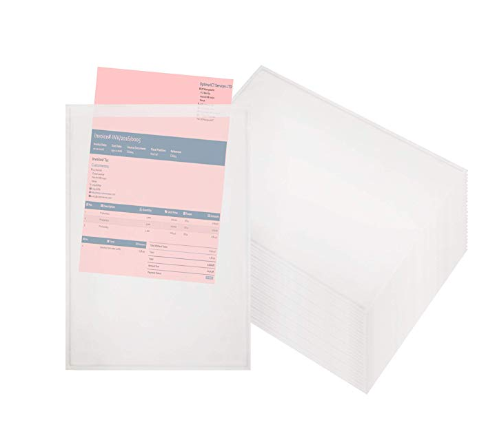 Self-adhesive Packing List Enclosed Plastic Envelope