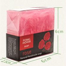 Thailand  roses Bar Soap with Extracts of Orange