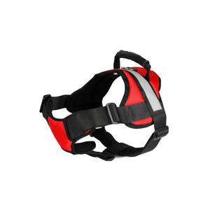 Pet Star Eco-Friendly red nylon custom xxl dog harness, dog protective harness vest