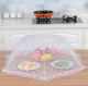 Kitchen pest control table dish cloth mesh food cover