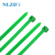 Cable Ties Tie Cable Tie NLZD Hot Sale Green Nylon Cable Zip Ties
