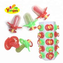 Funny New Pack Fruit Baby pacifier stick nipple shape hard toy candy