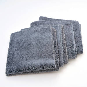 Professional edgeless 400gsm cleaning wax removal 80/20 blend microfiber polishing detailing towels