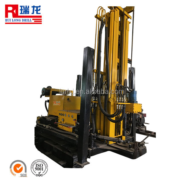 200m DTH Hammer Water Well Drilling Rig