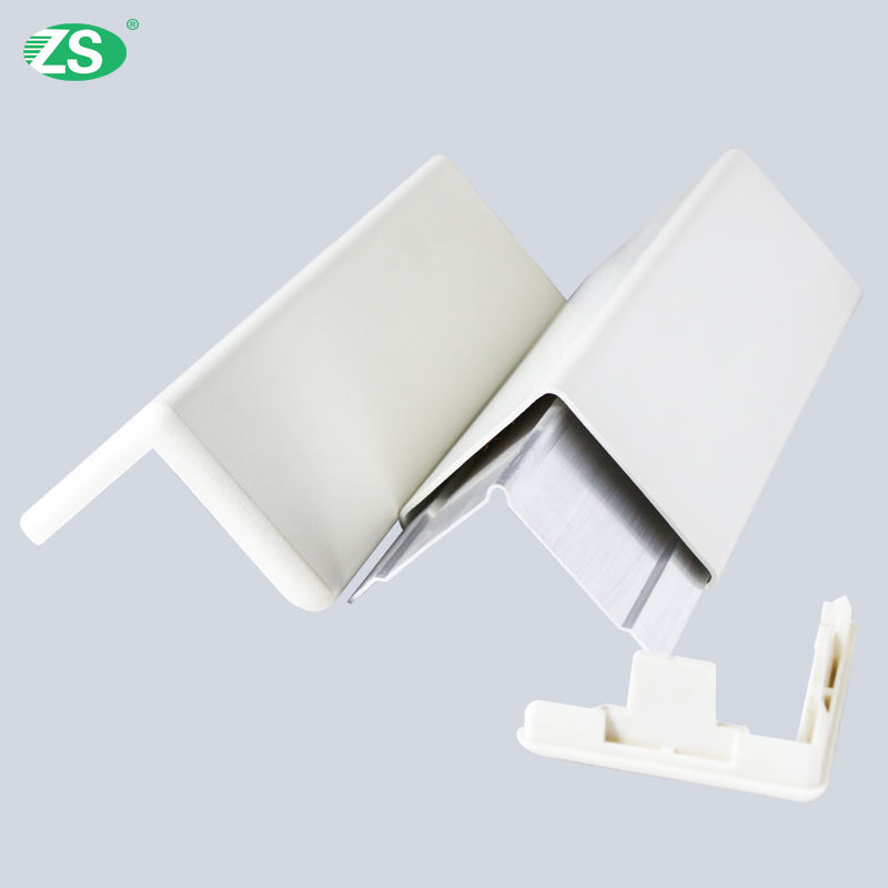 anti-collision pvc hospital wall mounted safety corner guard