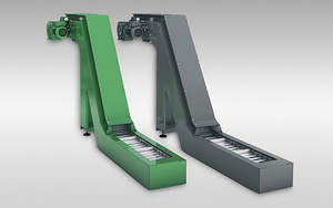 Mesin CNC Sheet Metal Fabrication Auger Chip Conveyor