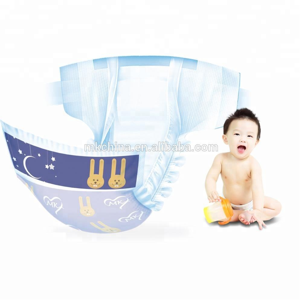 2020 New-designed sleepy organic disposable incontinence soft breathable wholesale baby diaper