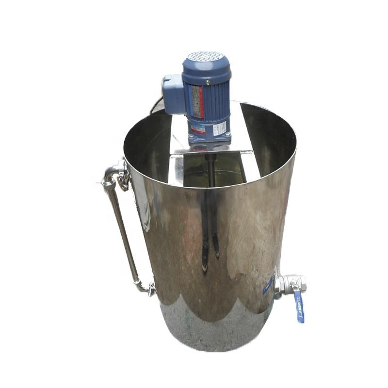 Industrial Stainless steel small chemical shampoo mixing tank power soap detergent agitator liquid mixer machine