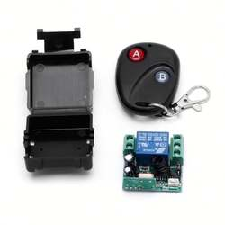 1 Channel 12V 315MHZ 433MHZ Wireless Learning Code Remote Control Switch