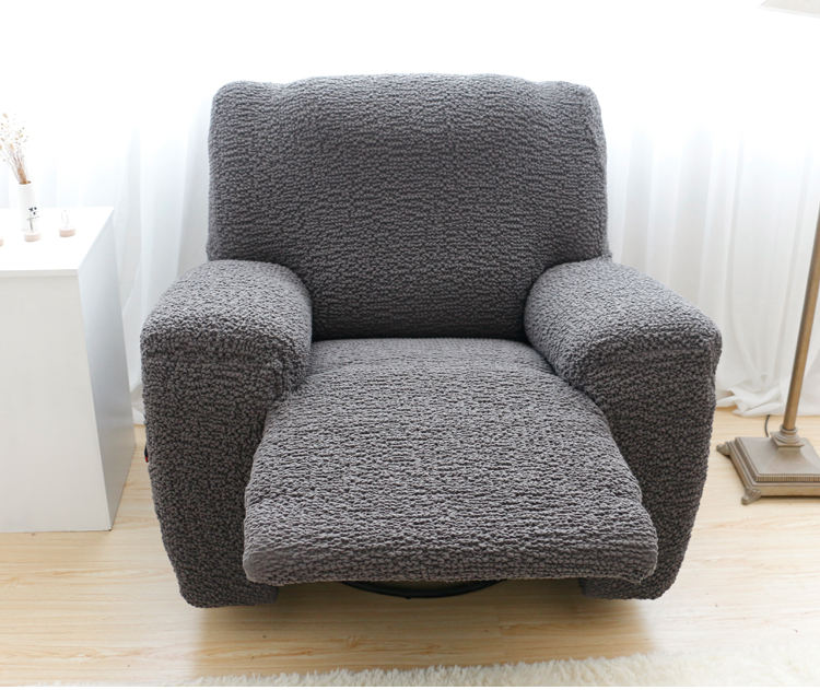 Modern [ Recliner Massage ] China Factory Modern Furniture Ready Made Single Slipcover Recliner Sofa Cover Massage Chair Cover