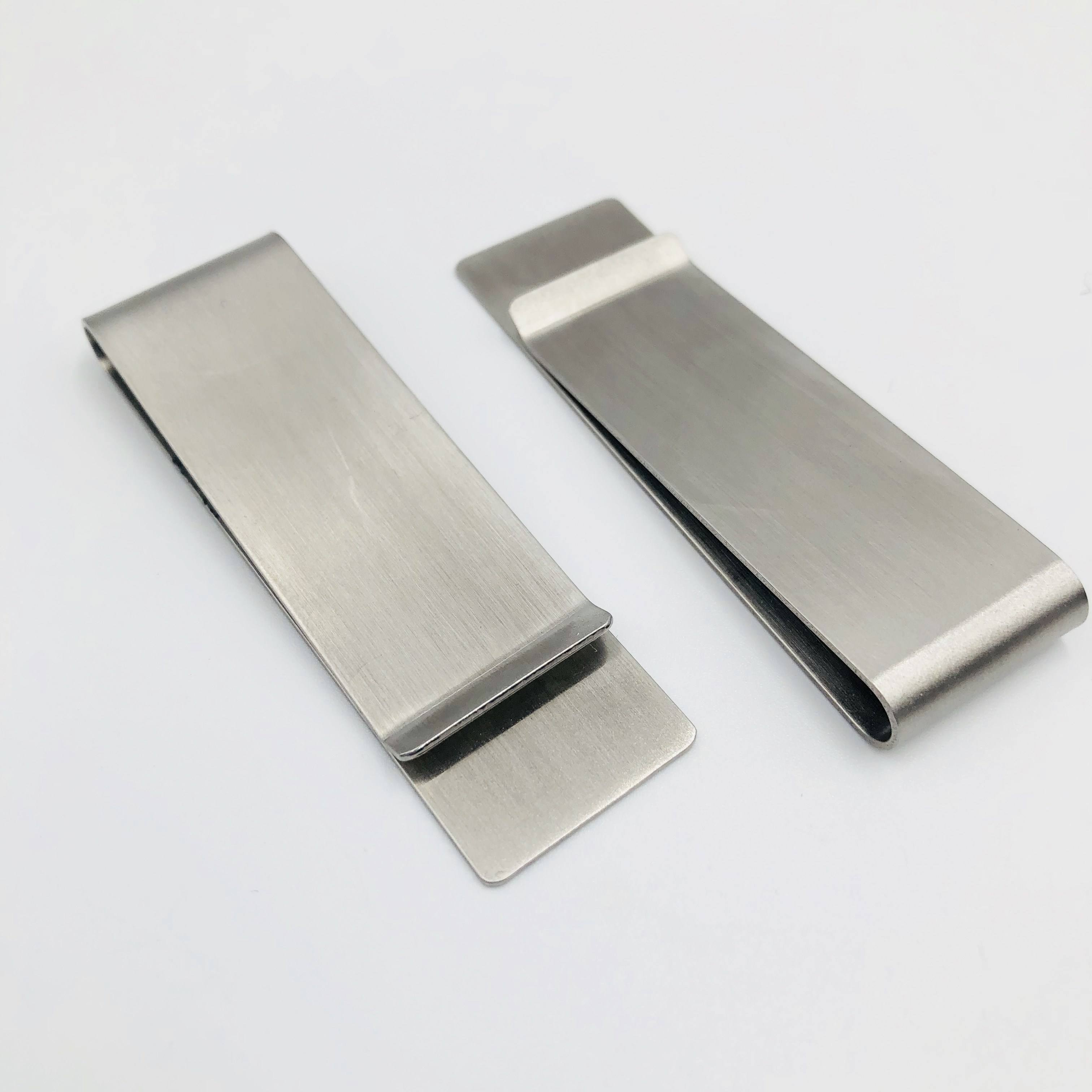 2019 Good Quality Stainless Steel Wallet Money clip For Men