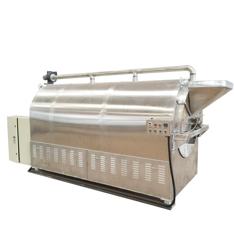 LQ-150kg almonds roasting machines /peanuts roaster