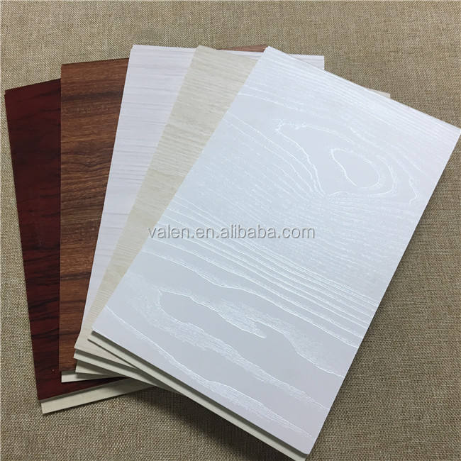 Materiales de Construcción de PVC Panel decorativo de pared Interior laminado