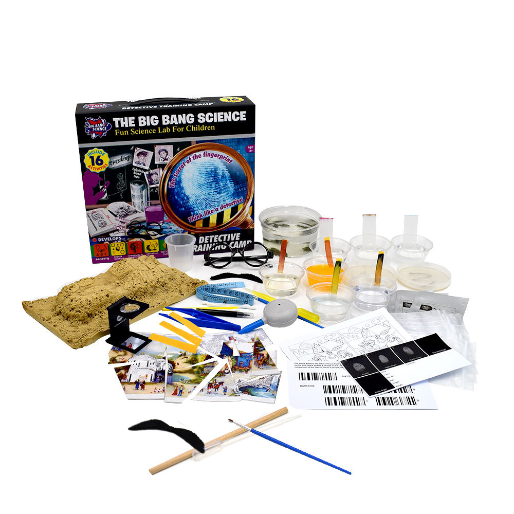 detective kit for kids chemistry education toys fun scientific game set