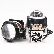 DAO 3.0 Inch Bi LED Projector Lens Hi/Lo Beam Conversion Kit 6000LM Headlight Fog Lamp Universal Use Factory Supply