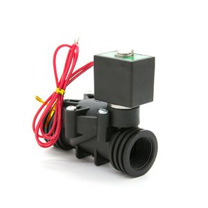 Low Price Plastic Electric Water Solenoid Valve