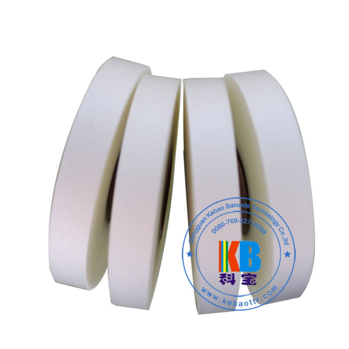 Main wash clothing transfer label ribbon printer printing TPU clear fabric garment label