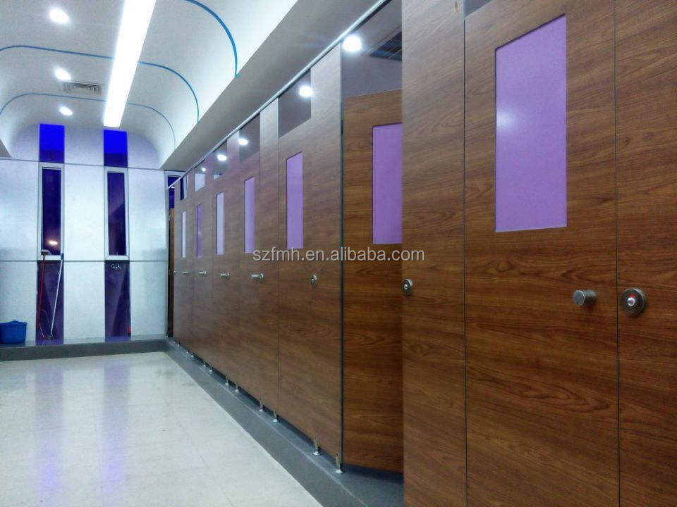 Toilet Cubicle Modern Cheap Used Bathroom Partitions / Gym Room Shower Toilet Cubicles