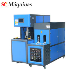 semi automatic blowing moulding machine pet bottle blower