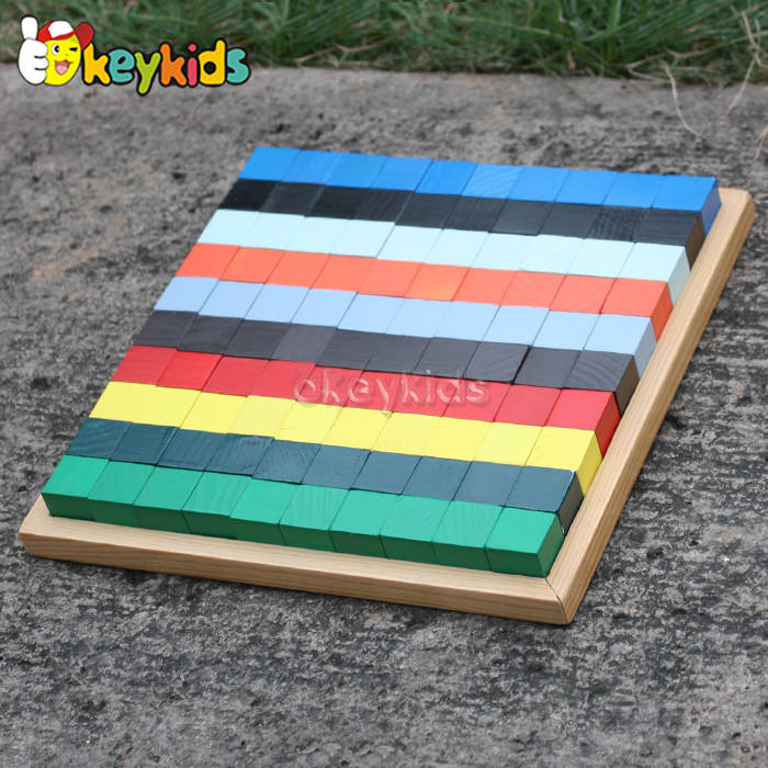 Toy Wooden Colorful Building Blocks Toy For W14A181