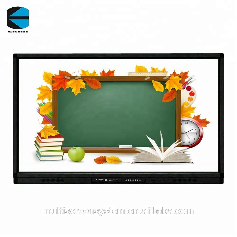65inch EKAA Wholesale School Teaching all in one touch screen pc tv computer smart board for school