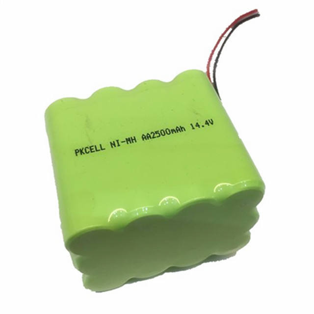 14.4v aa2500mAh ni-nh rechargeable battery pack for emergency led lights