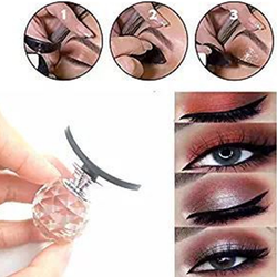 Newest Spherical Eye shadow Cut Crease Stamp Silicone Eyeshadow Stamp