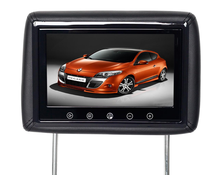 Touch screen 9inch TV monitor waterproof Headrest pillow monitor 1080p car headrest monitor