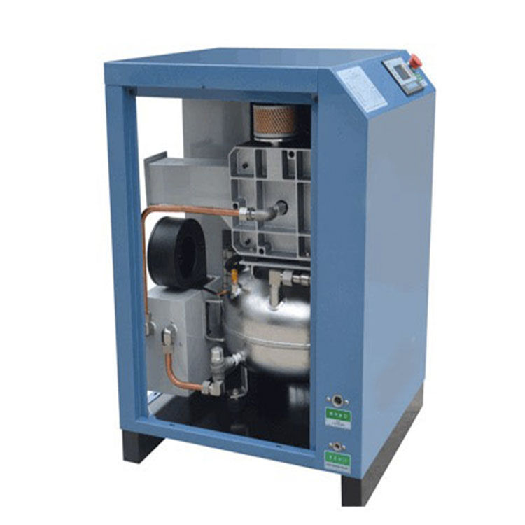 Packaging Customization [ 3hp Compressor ] 3hp / 2.2kw Compressor High Quality 2.2kw 3hp 200l Direct Driven Permanent Magnet Inverter Silent Oil Free Scroll Air Compressor With Air Tank