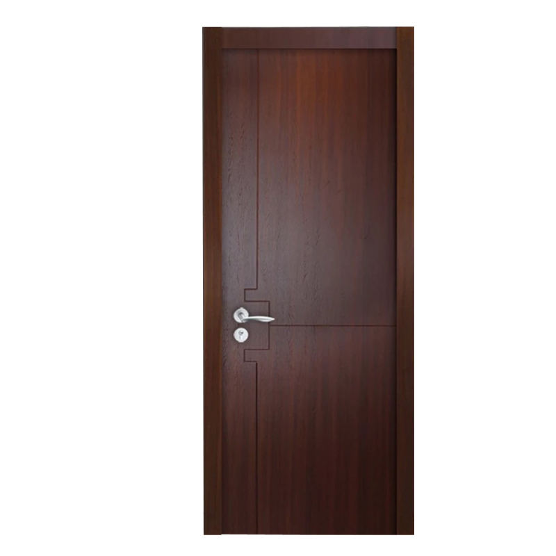 China factory cheaper price Solid Interior Hardboard Wood Flush Door Design