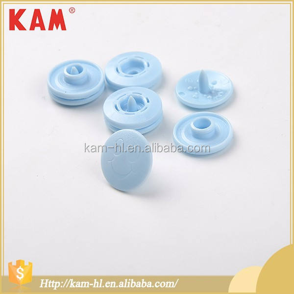 <span class=keywords><strong>Azul</strong></span> claro Kam de plástico POM ropa <span class=keywords><strong>botón</strong></span>