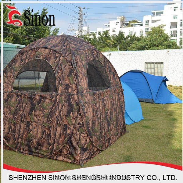2016 best price ground camo hunting blind tent