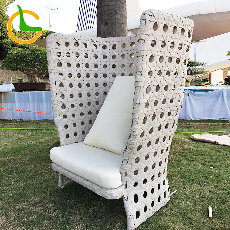 French style royal wedding luxury custom white wholesale queen king throne chair