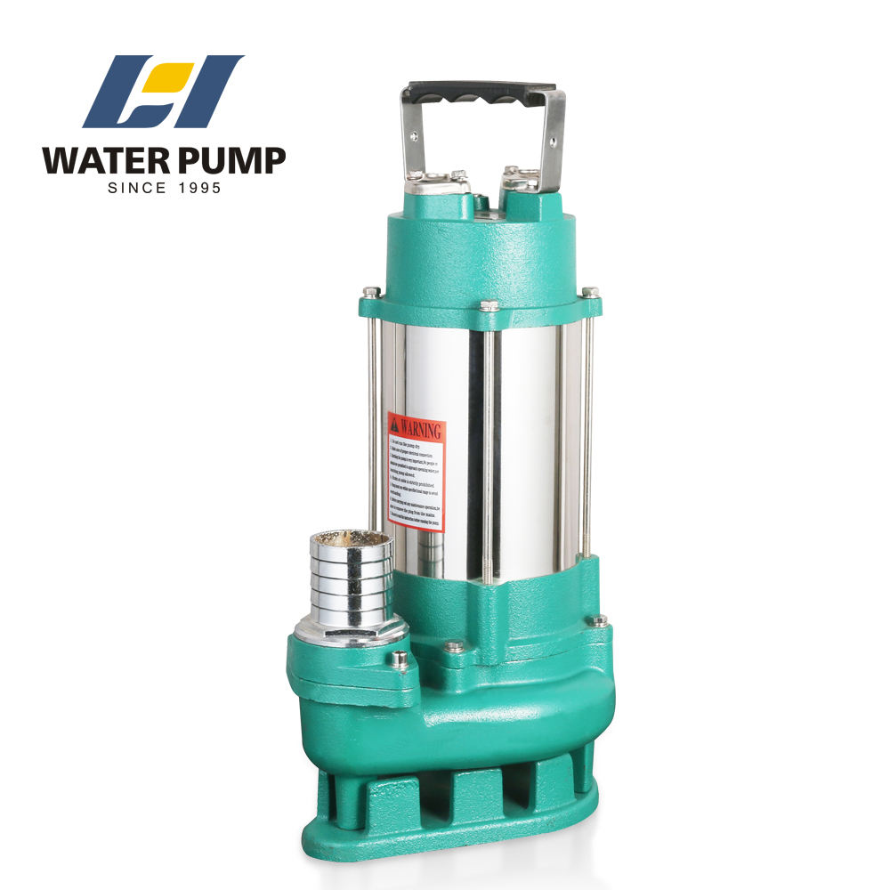 italy best prices high quality 1/4 hp portable electric sludge sewage centrifugal submersible pumps