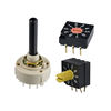High quality 64 KLS brand 3x3 type 8 position Heater Rotary Dip Switch
