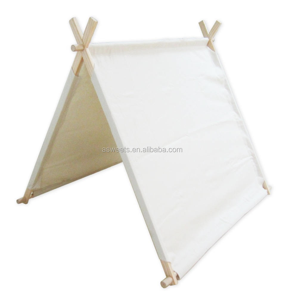 Foldable Kids Indoor Play Panner Tent X Frame Tent Playhouse Play Tent For Kids And Babies