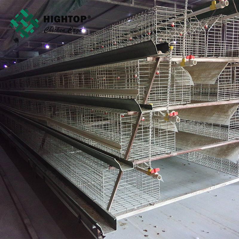 منتجات جديدة الساخنة المجلفن قفص مزرعة الدجاج اللاحم