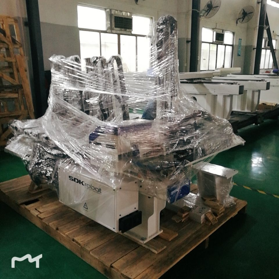 Packaging Customization Industrial Robot China Robot Industry Single Axis Manipulator For Injection Machine