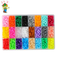 wholesale educational toys diy craft kit 5MM perler beads set kit fuse beads