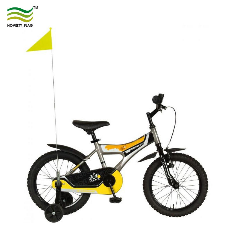 BIKE BICYCLE SAFETY FLAG Two Lenghts with Axle Fitting