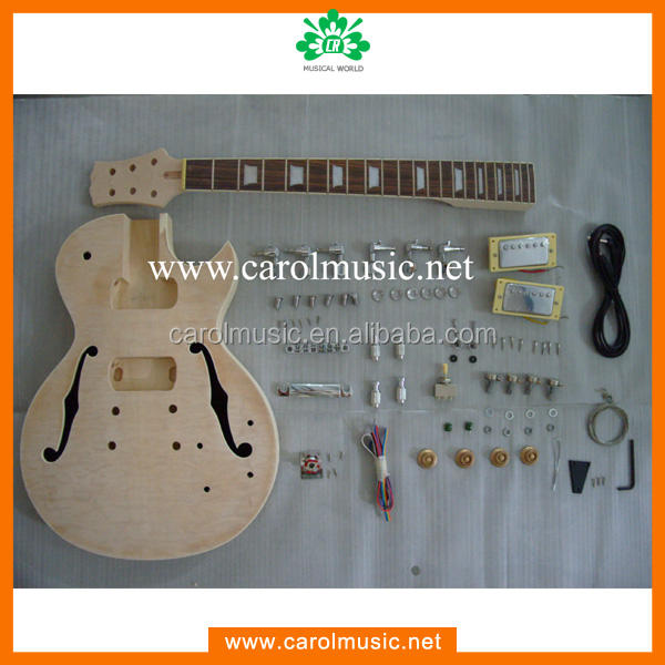GK014 Hollow Body F Hole Electric Guitar Kits