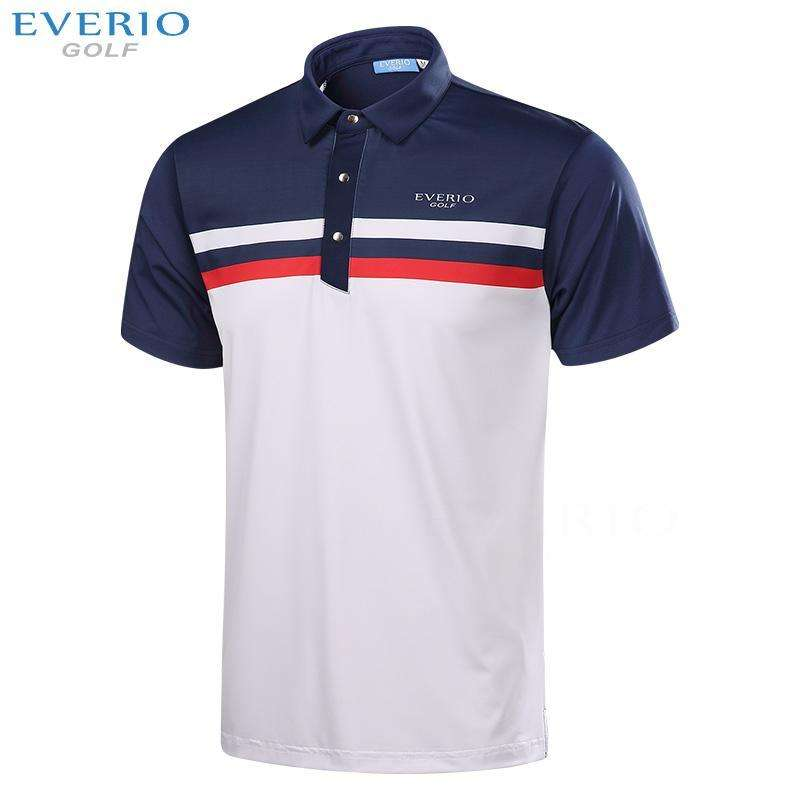 Custom Patterns Mens Quick Dry Golf Polo Shirts