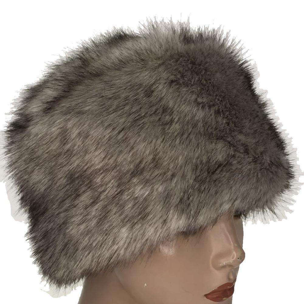 Custom Made Faux Fur Plush Russian Hats Winter Fur Hat For Ladies