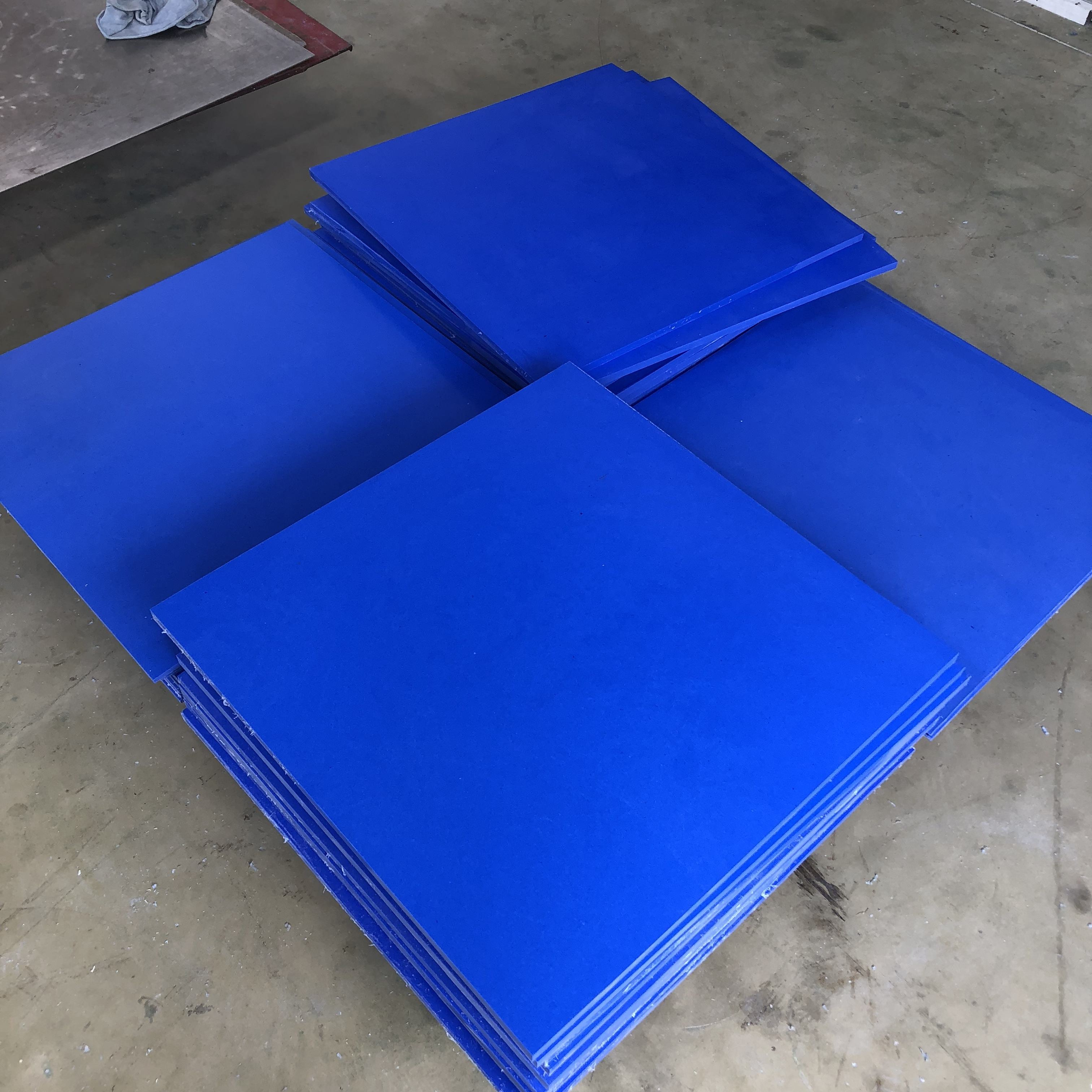 1mm 2mm 3mm 10mm 15mm Thick Factory Supplier Offer High Quality Blue PTFE Skived Sheet Square In Rolls Good Price
