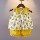China Wholesale Custom High Quality Summer Fashion Baby Clothes Set For Girls Clothes