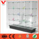 16 Cube Glass Display , Glass Display Case for Store Fixture