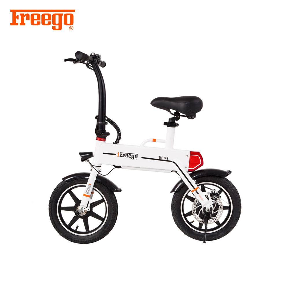 250W 36V lihtium battery scooter electric bike cheap adult folding e bicycle