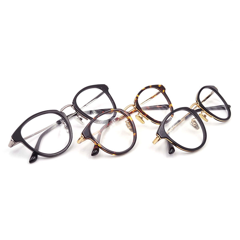 Fashion Acetate Optical Glasses Eyewear Custom Made Eyeglass frames Acetate Optical Frames