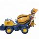 mobile 1m3 self loading concrete mixer for sale
